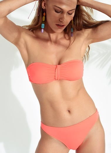 Morhipo Beach Straplez Bikini Oranj